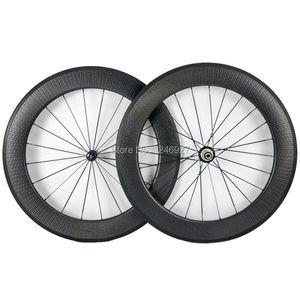 OEM 80 мм Dimple углеродная колесная Установка 25 мм ширина с Novatec или Powerway ступицы Dimple поверхность колеса