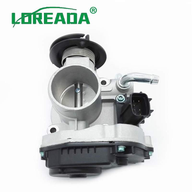 LOREADA 44mm yeni gaz kelebeği gövdesi aksamı Daewoo Kalos 1.2 B12S1 2005-2011 Chevrolet Aveo T200/T250 OEM #96332250 3C05A