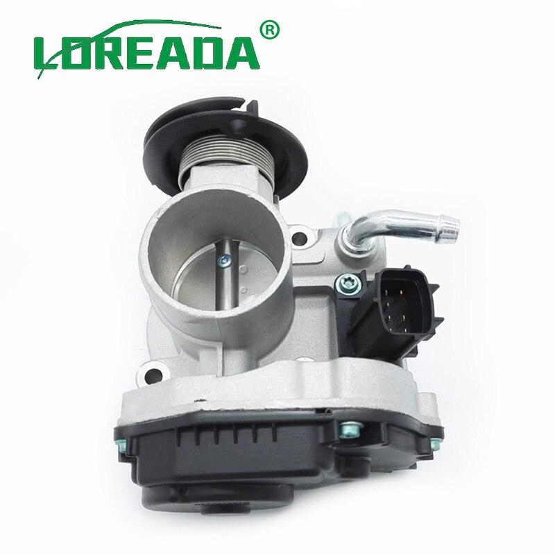 Loreada 44mm 대우 칼로스 용 새로운 스로틀 바디 어셈블리 1.2 b12s1 2005-2011 chevrolet aveo t200/t250 oem #96332250 3c05a