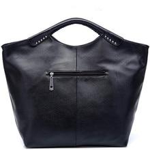 KUNDUI Hot Fashion simple bat women portable Leisure shoulder bag Messenger rivet PU handbags handbag women travel bags school