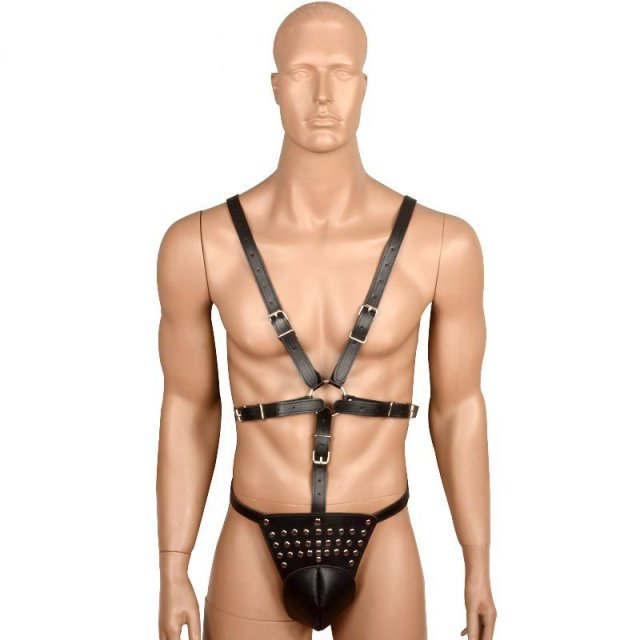 Sexy Leather Harnesses Men Bdsm Fetish Body Harness Male Belt Chest Male  Erotic Body Bondage Harness Straps Fetish Costumes