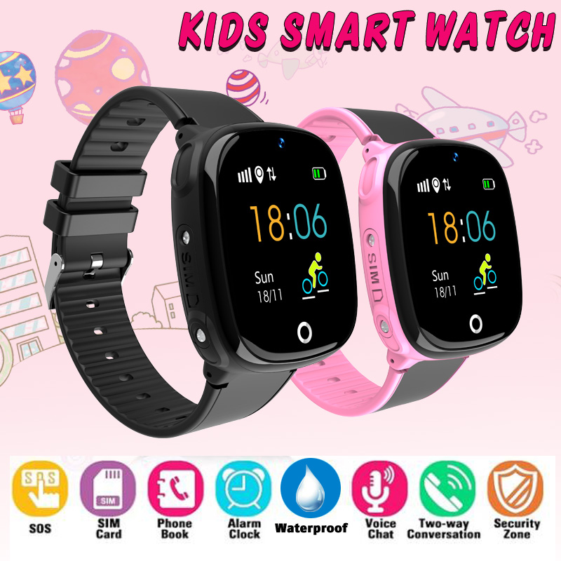 HW11 Kids Smart Watch Children Family Bluetooth SK07 Anti Lost Child Waterproof Wearable Device GPS SOS Call Kids Safe for Baby
