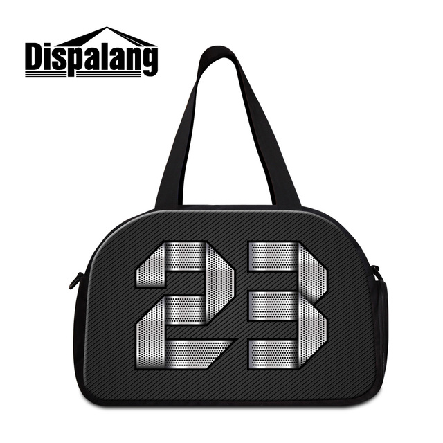 Dispalang women s travel bag personalized customized duffel bags with  independent shoes unit men s luggage shoulder bags bf7b519323