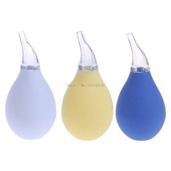 Baby Newborn Nasal Aspirator Suction Soft Tip Mucus Vacuum Runny Nose Cleaner -B116