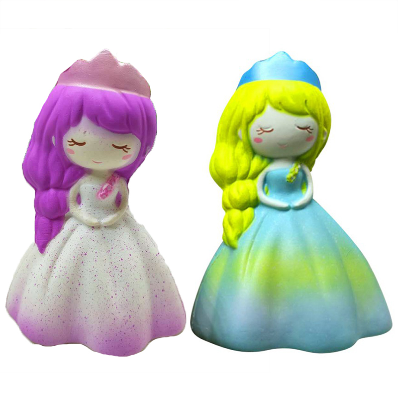 Baby Child's Toy Pu Cartoon Princess 2 Colors Chosen To Girl's Birthday Gift Toy 1