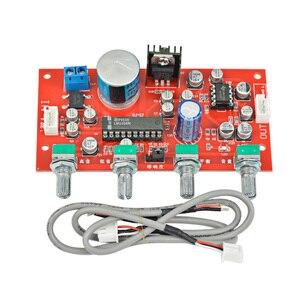 Image 5 - AIYIMA LM1036 Tone Board Bass Treble Balance Volume Control Adjustment NE5532 OP AMP HIFI Preamplifier Amplifier Single Power