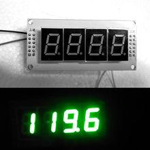 דיגיטלי תצוגת LED AM FM רדיו מקבל תדר דלפק מטר לשינקין מגבר 9 12V DC אספקת חשמל חדש