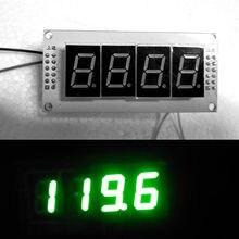 Medidor de frequência da rádio fm led, display digital, medidor de frequência para ham amplificador 9 12v dc fonte de alimentação nova varal