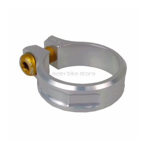 Silver 39mm KCNC SC11  Seat Post Clamp 7075 Alloy
