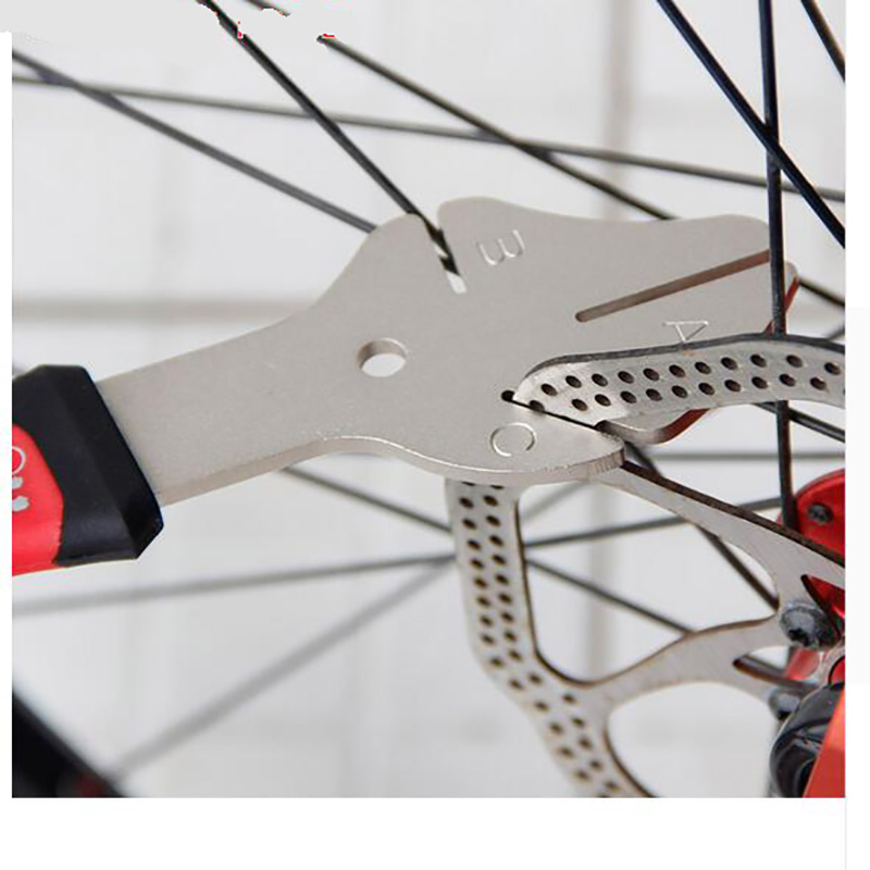 MTB Bike Disc Rotor Flattening Tool Bicycle Brake Disc Adjuster Bike Disk Tray Correction Tool Cycle Bike Repair Tools
