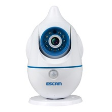 Escam Penguin QF521 Cheap 2 way audio security camera IP internet wireless baby