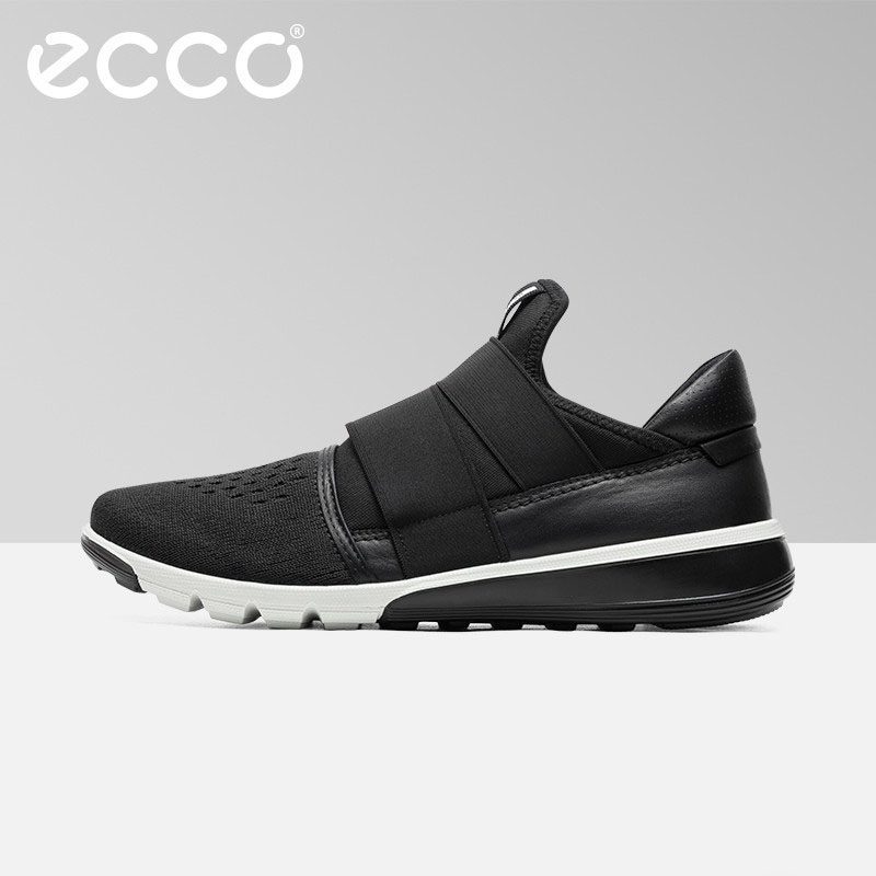 7cda2599 Роскошный бренд Ecco Мужская сетчатая повседневная обувь удобные кроссовки  2019 г. Новые летние модные дышащие