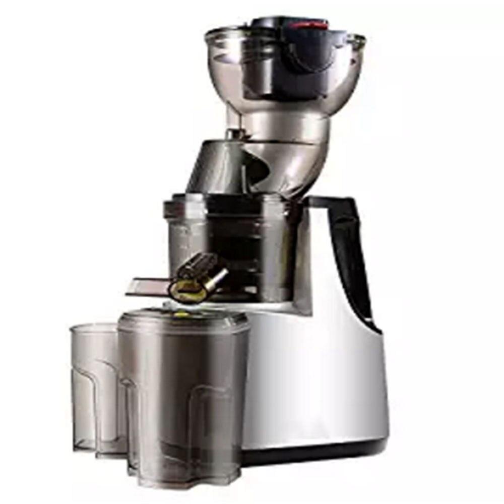 лучшая цена 250W Vertical Masticating Cold Press Juicer 37RPMs Wide Chute Anti-Oxidation Juice Extractor Fruit Vegetable Kitchen Appliances