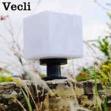цена на Outdoor waterproof wall lamp garden villa wall led lighting park pillar wall lights gate post Wall lamp fixtures