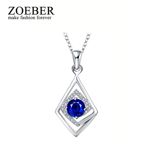 Zoeber Fashion Angel Wings Fashion classic personality geometric Romantic Crystal Angel Necklace Women party Christmas Girl Gift