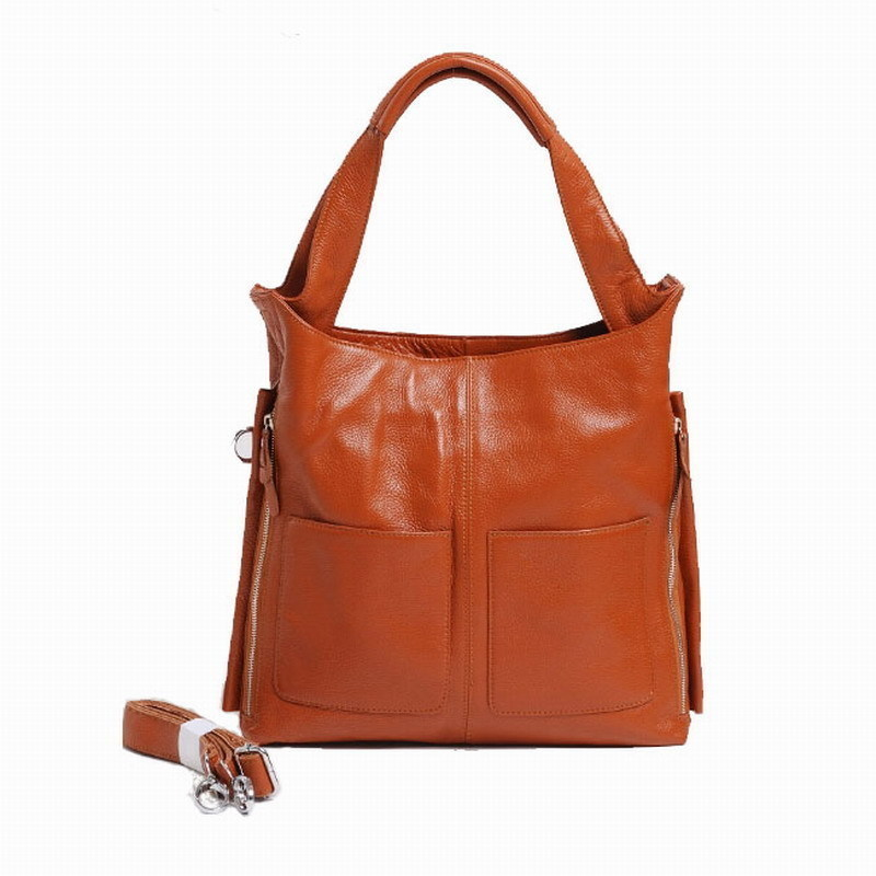 ФОТО Large capacity new fashion genuine leather women handbags high quality lady messenger bags casual woman shoulder K052