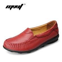 รองเท้าผู้หญิงFullหนังแท้ผู้หญิงเตี้ยรองเท้าโลฟเฟอร์ใบบนผู้หญิงสบายๆรองเท้าแบนรองเท้าหนังนิ่มz apatos mujer