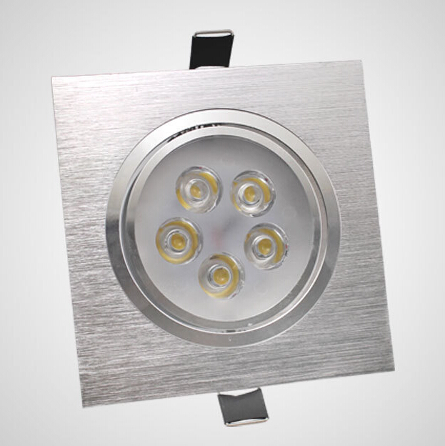 High quality Dimmable 3W 5W 7W Recessed LED Downlights Epistar LED Spot light AC85-265V LED Ceiling Lamp Warm white Cold white