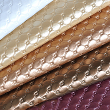 Meetee 50x137cm Faux PU Soft Leather Fabric 8mm Thick Artificial for Sewing Sofa Bag Bed Car Decoration Material