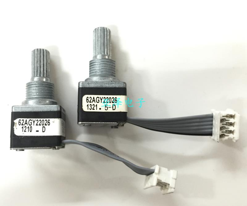 GRAYHILL photoelectric encoder, Audi A6L air conditioner, rotary encoder, adjusting potentiometer, with press switch
