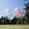 Groothandel Gratis Verzending 1.0mm TPU Opblaasbare Zorb Bal 1.5m Bubble Voetbal Air Bumper Bal Bubble Voetbal Voor volwassenen