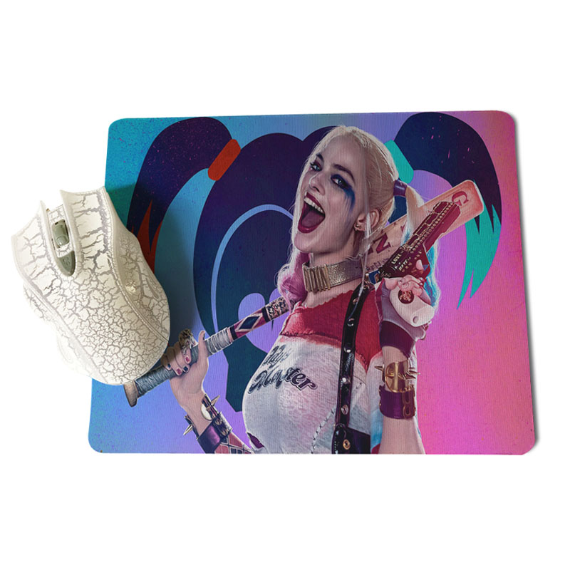 Babaite Suicide Squad mouse pad gamer play mats Size for 18x22 and 25x29cm Gaming Mousepads