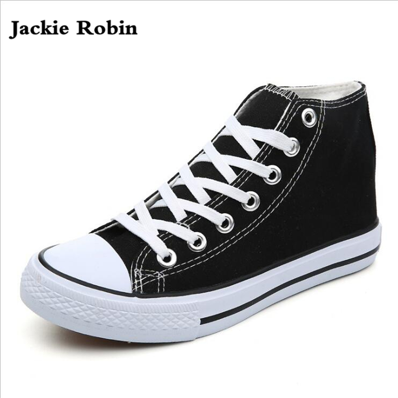 Realistic Wen Men Women Casual Shoes Black White Canvas Shoes Unisex Sneakers High Top Lace Up Footwear Vulcanized Shoes Flat Big Size 49 Cheap Sales Shoes Men's Vulcanize Shoes