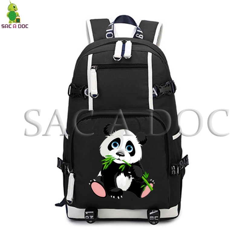 Animal Panda Backpack for Teenagers Laptop Backpack College Student Large School Bags Women Men Cute Panda Travel RucksackAnimal Panda Backpack for Teenagers Laptop Backpack College Student Large School Bags Women Men Cute Panda Travel Rucksack