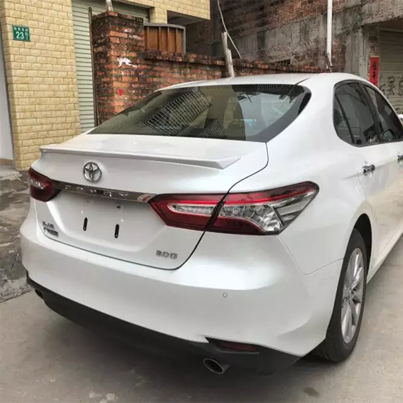 New design For toyota Camry 2018 high quality and hardness ABS material spoiler by primer or DIY color paint camry spoilers in Spoilers Wings from Automobiles Motorcycles