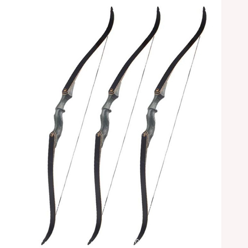 60 Inch American Hunting Take Down Recurve Bow 30-50lbs Right Hand Black Hunter Shooting Accessories60 Inch American Hunting Take Down Recurve Bow 30-50lbs Right Hand Black Hunter Shooting Accessories