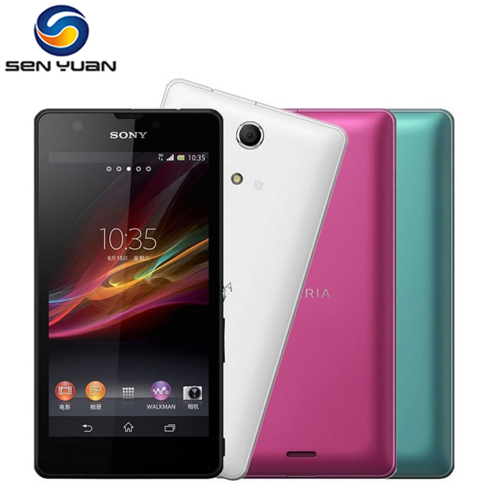 bilder für Original Sony Xperia ZR M36h Handy C5503 C5502 Unlocked GSM WIFI GPS 4,6 ''8 GB ROM C5503 Zelle telefon