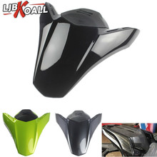 LJBKOALL Z 900 ABS Rear Seat Fairing Cover Tail Cowl Fairing Seat Cover Fits for Kawasaki 2017-2018 Z900 Black Green Dark Grey motorcycle seat cowl rear passenger cover for kawasaki z900 z 900 2017 2018 motor abs accessories rear seat cover cowl