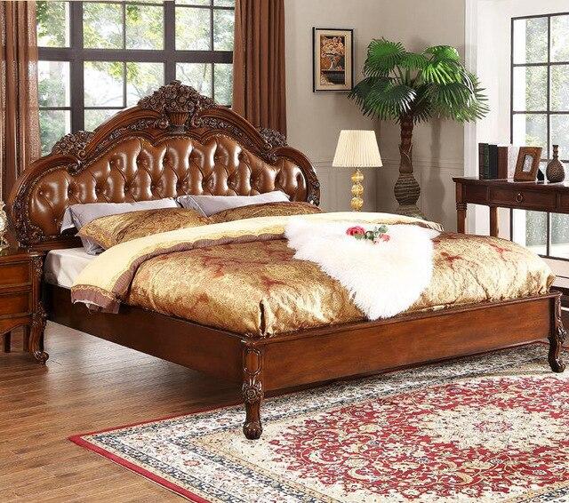 American C Bedside Cabinet Marriage Bed Bedside Cabinet Solid Wood Antique  Furniture Rustic Furniture Grade Wood