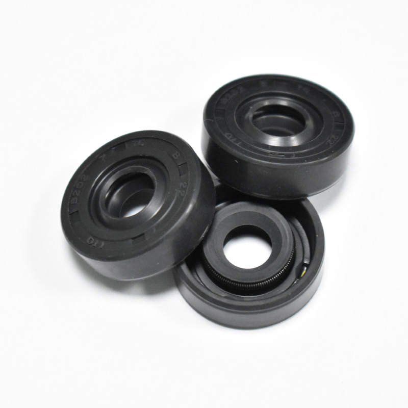 3pcs/lot 7mm*8mm*22mm Black Radial Shaft Seal Ring Oil Seal Ring Replacements For LG Samsung Philips ACA..... Blender Spare Part
