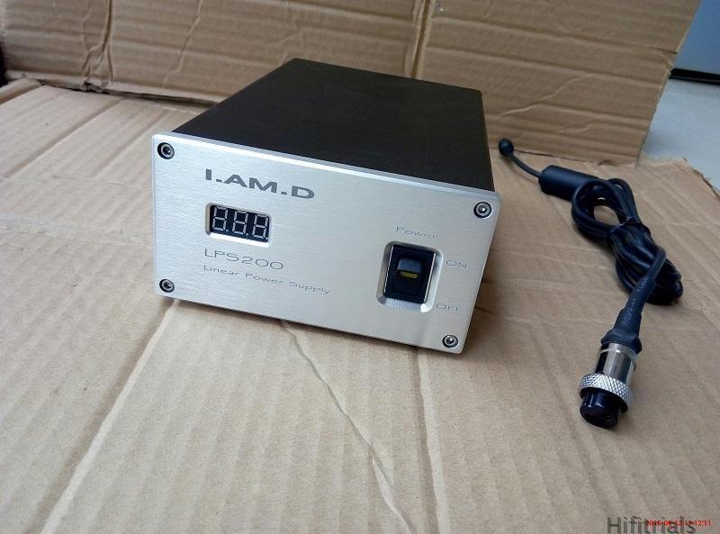 I.AM.D LPS200 Linear Power Supply For V200 Digital Amplifier Output DC32V/8A+USB DC5V/1-2A Max Power Output 280W Input AC220V