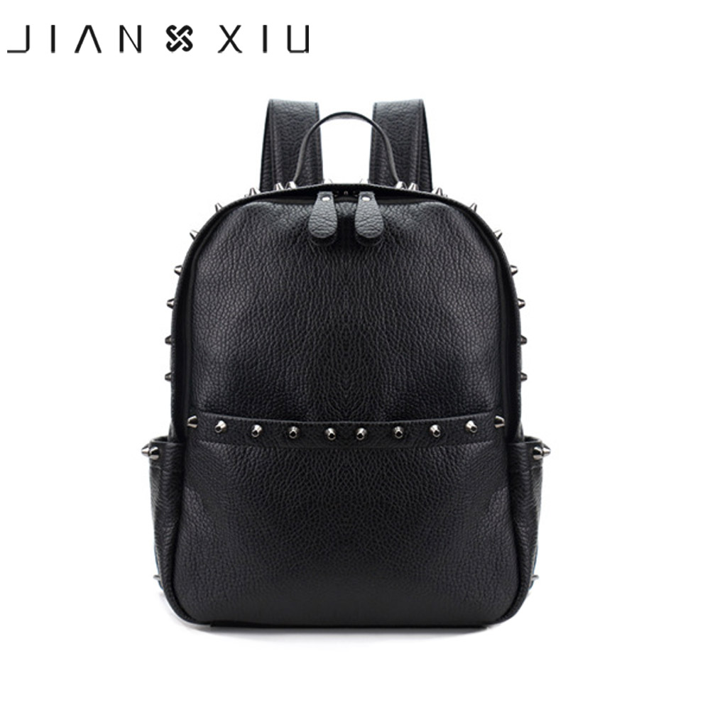 Jianxiu Brand Women Backpack Pu Leather School Bags Mochilas Mochila Feminina Bolsas Mujer Backpacks Rugzak Back Pack Bag 2018 #3