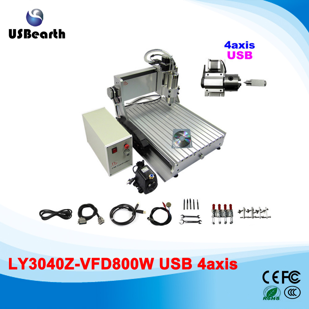 USB port 3D axis CNC router 3040 wood carving machine with 800w spindle motor disassembled pack mini cnc 1610 2500mw laser cnc machine pcb wood carving machine diy mini cnc router