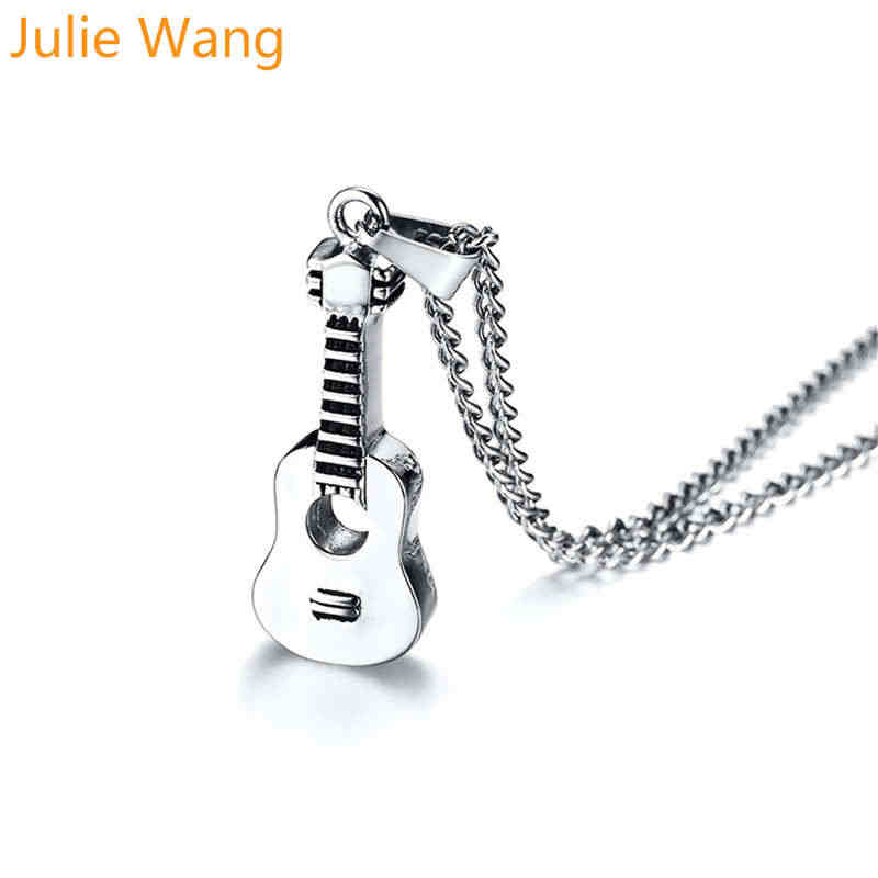Julie Wang สร้อยคอสร้อยคอสแตนเลสเงิน Urn จี้ผู้ชายผู้หญิง Keepsake ขี้เถ้าอนุสรณ์ Pet Cremation แฟชั่นเครื่องประดับ