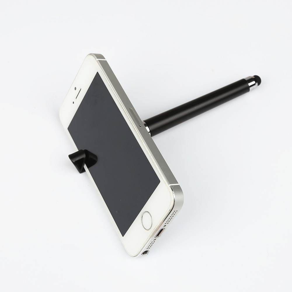 FFFAS 3 In 1 Multi-function Cellphone Holder Stand Stylus Touch Screen Stylus Pens For IPad IPhone 5 6S Samsung Tablet