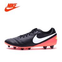 Orijinal NIKE Yeni Varış TIEMPO GENIO II DERI AG-PRO erkek Futbol Ayakkabı Futbol Ayakkabı Sneakers