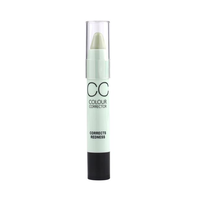 Face Makeup CC Color Corrector Blemish Concealer Cream Base Palette Pen Pencil Corretivo Stick Cosmetic 6 Colors