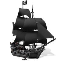 New LEPIN 16006 Pirates Of The Caribbean The Black Pearl Building Blocks 4184 Creative Educational Toy