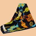 "Huajun || scarves brand new color ""Cuivreries"" 90 silk scarf 100% silk twill scarves printed scarf shawl"