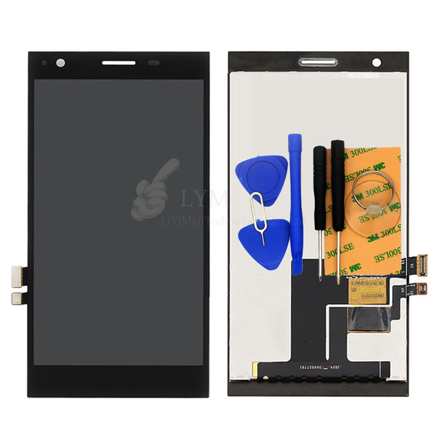 Black LCD+TP for ZTE Blade Vec 4G Orange RONO LCD Display+Touch Screen Digitizer Panel Asssembly Replace Free Shipping+Tools