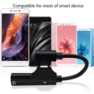 Image 4 - 2pcs pack USB C to Headphone Jack Adapter Type C 3.5mm Audio and Charging Converter Compatible with xiaomi Huawei type C device