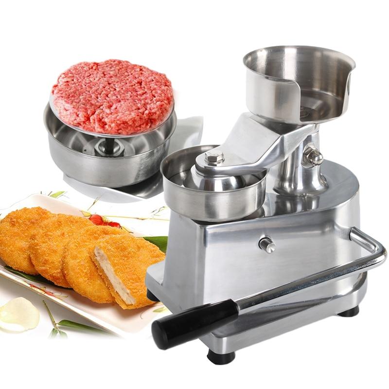 ITOP 100 мм 130 мм пресс для гамбургеров, формовочная машина для круглого мяса, алюминиевая машина для формования котлета для бургеров