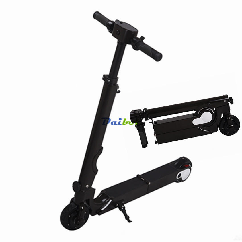 foldable mini electric scooter folding two wheels. Black Bedroom Furniture Sets. Home Design Ideas