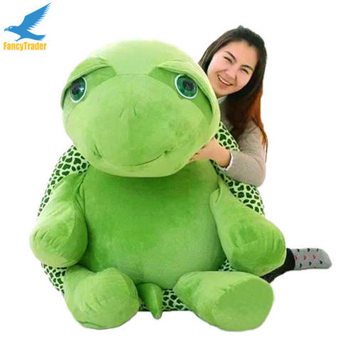 Fancytrader 59\'\' 150cm Lovely Stuffed Soft Giant Tortoise Turtle Toy, Free Shipping FT50059 (3)