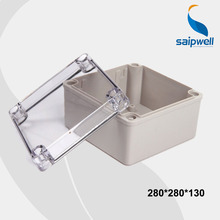 280*280*130 Clear Cover Plastic Boxes Mould Waterproof Switch Box With CE Approval (DS-AT-2828)