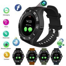 2019 Bluetooth Смарт-часы с сенсорным экраном спальный монитор с камерой водонепроницаемый спортивный Браслет фитнес-трекер умный Браслет